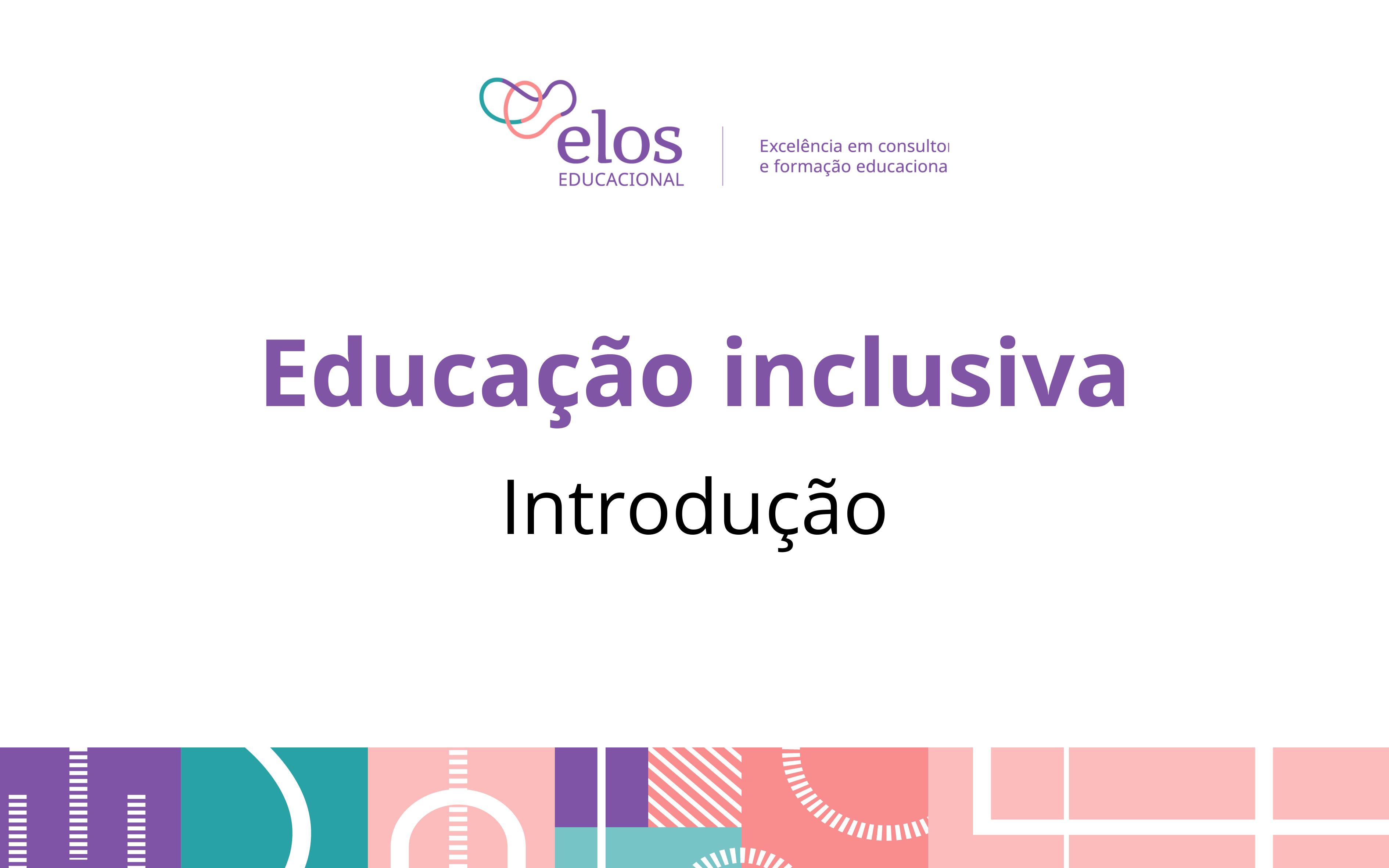 Educação inclusiva: introdução